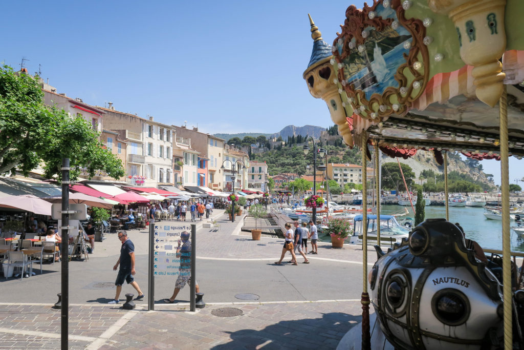 Cassis Town & Church, South of France. Travel Diary by Rosie André (beach, village, town, bucketlist, destination, photography, Europe, journal, countryside, landscape, boats, harbour, harbor, port)