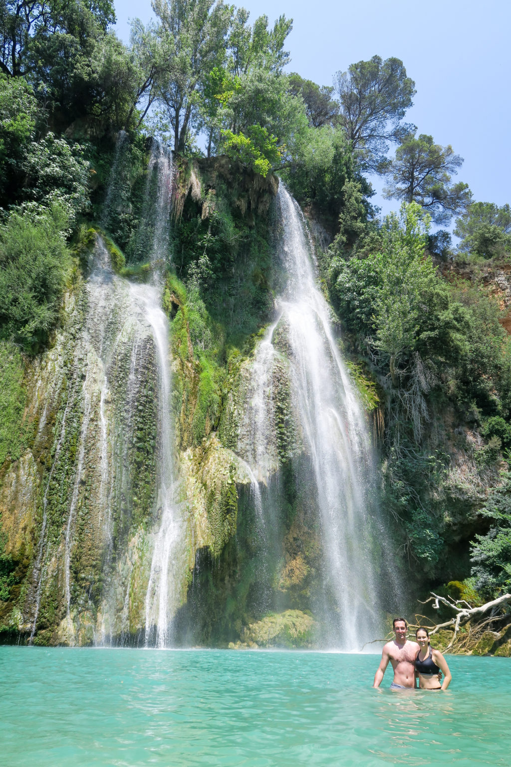 Cascade de Sillans, South of France. Travel Diary by Rosie Andre. (waterfall, nature, france, visit, tourist, tourism, day trip, photographs, photography, visit, natural)
