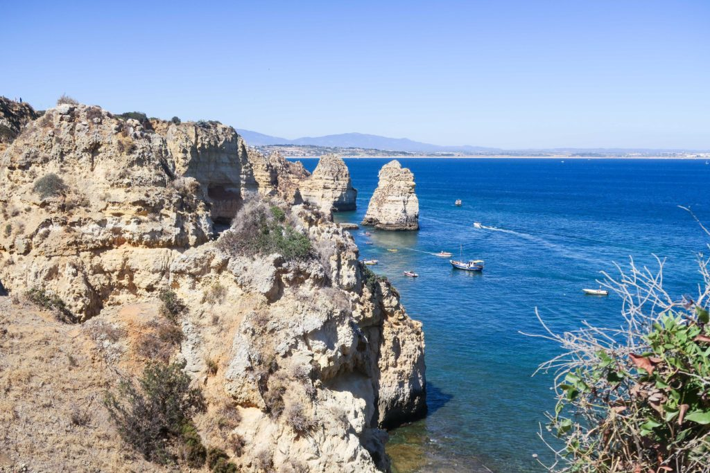Ponta da Piedade, Portugal Travel Diary & Blog by Rosie Andre (Algarve, wanderlust, travel, destination, vacation, holiday, summer, europe, guide, towns, city, landscape, travel photo, photography, day trip, beach, history, family, globe trotter, traveller, traveler, travel blogger)